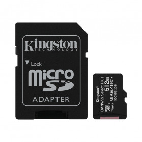 Kingston Canvas Select Plus MicroSDXC UHS-I Class 10 V10 (100MB/s) 512GB - SDCS2