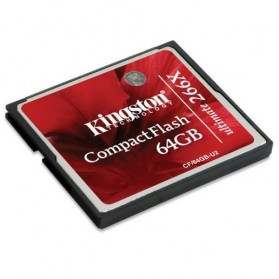 Micro SD Card - Kingston Compact Flash Memory Card Ultimate 266x (45MB/s) 64GB - CF/64GB-U2 - Black