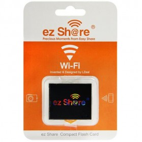 EZ Share WiFi Compact Flash Card 64GB C10 - Black