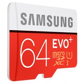 Samsung MicroSDXC EVO Plus Class 10 UHS-1 (80MB/s) 64GB with SD Adapter - MB-MC64DA - 2