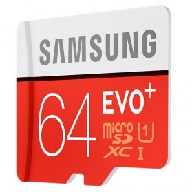 Samsung MicroSDXC EVO Plus Class 10 UHS-1 (80MB/s) 64GB with SD Adapter - MB-MC64DA - 3