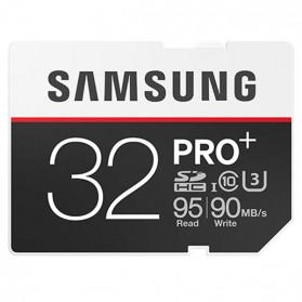 Samsung SDHC PRO+ UHS-3 Class 10 (95MB/s) 32GB - MB-SD32D