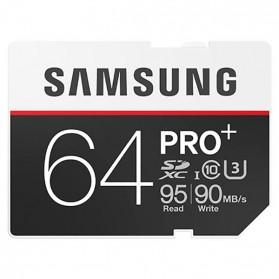 Samsung SDXC PRO+ UHS-3 Class 10 (95MB/s) 64GB - MB-SD64D