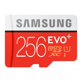 Samsung MicroSDXC EVO Plus Class 10 UHS-1 (95MB/s) 256GB with SD Adapter - MB-MC256DA