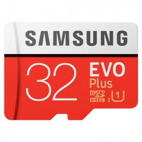 Samsung MicroSDHC EVO Plus Class 10 UHS-1 (95MB/s) 32GB with SD Adapter - MB-MC32GA
