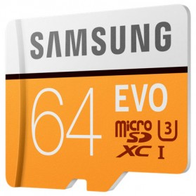 Samsung MicroSDXC EVO Class 10 UHS-1 (100MB/s) 64GB - MB-MP64G - 3