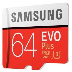 Samsung MicroSDXC EVO Plus Class 10 UHS-1 (100MB/s) 64GB with SD Adapter - MB-MC64GA - 2