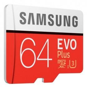 Samsung MicroSDXC EVO Plus Class 10 UHS-1 (100MB/s) 64GB with SD Adapter - MB-MC64GA - 3