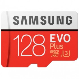 Samsung MicroSDXC EVO Plus Class 10 UHS-1 (100MB/s) 128GB with SD Adapter - MB-MC128GA
