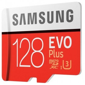 Samsung MicroSDXC EVO Plus Class 10 UHS-1 (100MB/s) 128GB with SD Adapter - MB-MC128GA - 2