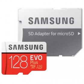 Samsung MicroSDXC EVO Plus Class 10 UHS-1 (100MB/s) 128GB with SD Adapter - MB-MC128GA - 4