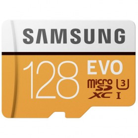 Samsung MicroSDXC EVO Class 10 UHS-1 (100MB/s) 128GB With SD Adapter - MB-MP128GB - 2