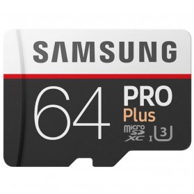 Samsung MicroSDXC Pro Plus UHS-1 (100MB/s) 64GB With SD Adapter - MB-MD64GA - 2