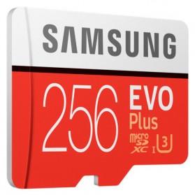 Samsung MicroSDXC EVO Plus Class 10 UHS-1 U3 (100MB/s) 256GB with SD Adapter - MB-MC256GA - 3