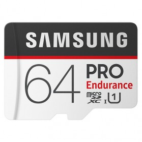 Samsung PRO Endurance MicroSDXC UHS-I (104MB/s) 64GB with Adapter - MB-MJ64GA