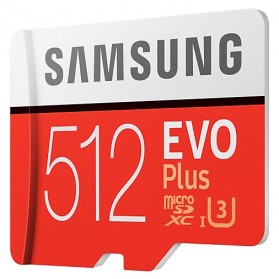 Samsung MicroSDXC EVO Plus Class 10 UHS-1 U3 (100MB/s) 512GB with SD Adapter - MB-MC512GA - 2
