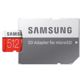 Samsung MicroSDXC EVO Plus Class 10 UHS-1 U3 (100MB/s) 512GB with SD Adapter - MB-MC512GA - 5