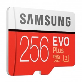 Samsung MicroSDXC EVO Plus Class 10 UHS-1 U3 (100MB/s) 256GB with SD Adapter - MB-MC256HA (CN Version) - 3