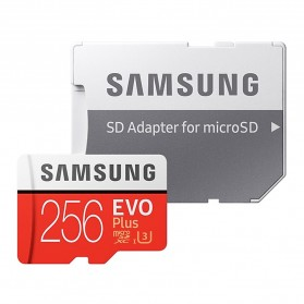 Samsung MicroSDXC EVO Plus Class 10 UHS-1 U3 (100MB/s) 256GB with SD Adapter - MB-MC256HA (CN Version) - 4