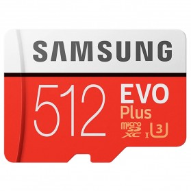 Samsung MicroSDXC EVO Plus Class 10 UHS-1 U3 (100MB/s) 512GB with SD Adapter - MB-MC512HA (CN Version)