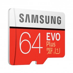 Samsung MicroSDXC EVO Plus Class 10 UHS-1 U1 (100MB/s) 64GB with SD Adapter - MB-MC64HA (EU Version) - 3