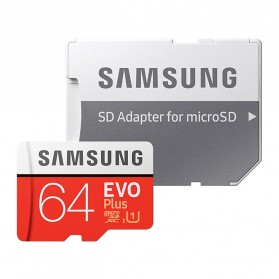 Samsung MicroSDXC EVO Plus Class 10 UHS-1 U1 (100MB/s) 64GB with SD Adapter - MB-MC64HA (EU Version) - 4