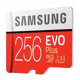 Samsung MicroSDXC EVO Plus Class 10 UHS-1 U3 (100MB/s) 256GB with SD Adapter - MB-MC256HA (EU Version) - 2