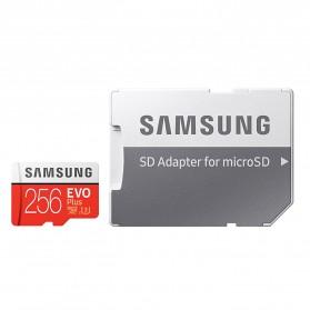 Samsung MicroSDXC EVO Plus Class 10 UHS-1 U3 (100MB/s) 256GB with SD Adapter - MB-MC256HA (EU Version) - 6
