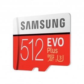 Samsung MicroSDXC EVO Plus Class 10 UHS-1 U3 (100MB/s) 512GB with SD Adapter - MB-MC512HA (EU Version) - 2