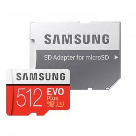 Samsung MicroSDXC EVO Plus Class 10 UHS-1 U3 (100MB/s) 512GB with SD Adapter - MB-MC512HA (EU Version) - 4