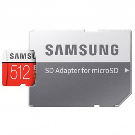 Samsung MicroSDXC EVO Plus Class 10 UHS-1 U3 (100MB/s) 512GB with SD Adapter - MB-MC512HA (EU Version) - 5