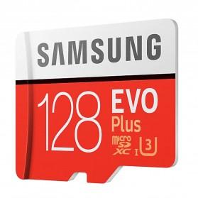 Samsung MicroSDXC EVO Plus Class 10 UHS-1 U3 (100MB/s) 128GB with SD Adapter - MB-MC128HA (EU Version) - 2