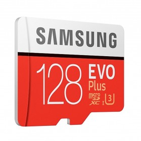 Samsung MicroSDXC EVO Plus Class 10 UHS-1 U3 (100MB/s) 128GB with SD Adapter - MB-MC128HA (EU Version) - 3