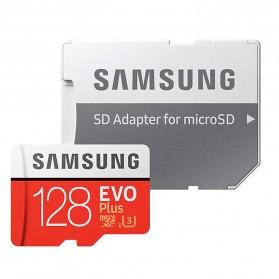 Samsung MicroSDXC EVO Plus Class 10 UHS-1 U3 (100MB/s) 128GB with SD Adapter - MB-MC128HA (EU Version) - 4