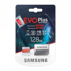 Samsung MicroSDXC EVO Plus Class 10 UHS-1 U3 (100MB/s) 128GB with SD Adapter - MB-MC128HA (EU Version) - 8