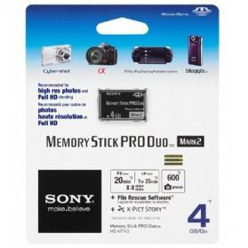 Sony Memory Stick PRO Duo Mark 2 4GB - MS-MT4G - Black - 2