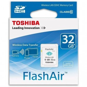 Toshiba Flash Air Wireless SD Card Class 10 32GB