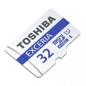 Toshiba Exceria MicroSDHC UHS-I Class 10 (48MB/s) 32GB - THN-M301R0320C4 - Black - 2