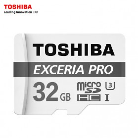 Toshiba Exceria Pro Micro SDHC UHS-I U3 R95/W80 MB/s 32GB with Adapter
