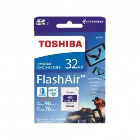 Toshiba Flash Air Wireless SD Card Class 10 32GB - CW-4 Cl10 - White - 3