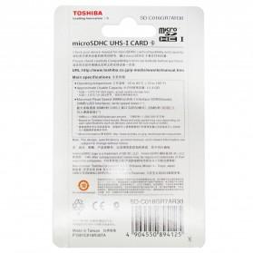 Toshiba MicroSDHC UHS-I Class 10 (30MB/s) 16GB - SD-C016GR7AR30 - Black - 3