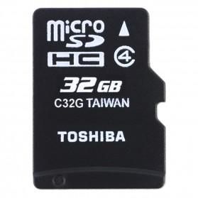 Toshiba MicroSDHC Class 4 (10MB/s) 32GB - SD-C32GR7W4 - Black