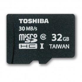 Toshiba MicroSDHC UHS-I Class 10 (30MB/s) 32GB - SD-C032GR7AR30 (BULK PACKAGING) - Black - 1