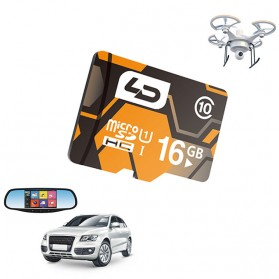 LD MicroSDHC UHS-1 Class 10 For Car DVR (40MB/s) 16GB