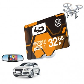 LD MicroSDHC UHS-1 Class 10 For Car DVR (40MB/s) 32GB