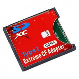 Compact Flash - Adapter Extreme SD Card ke Compact Flash