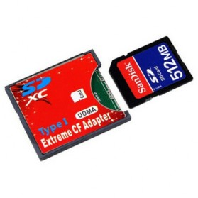Adapter Extreme SD Card ke Compact Flash - 151111 - 2
