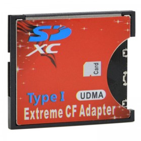 Adapter Extreme SD Card ke Compact Flash - 151111 - 3