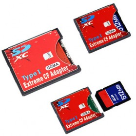Adapter Extreme SD Card ke Compact Flash - 151111 - 4