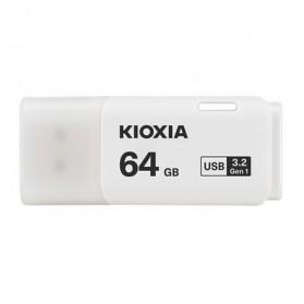 Kioxia TransMemory Flash Drive Flashdisk USB 3.2 64GB - LU301W064GC4 - White - 3